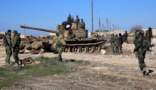 Intense Fighting Erupts Between Syrian Army And ISIS Terrorists Near Tyas Airbase