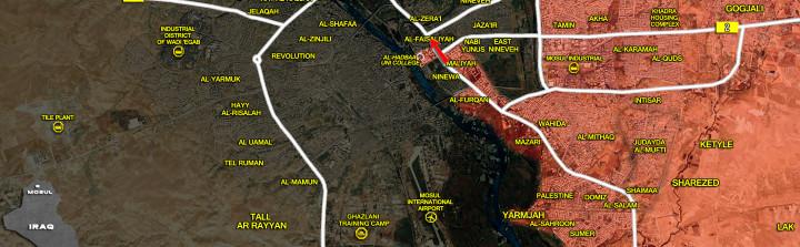 13Jan_Mosul city_Iraq_war_map