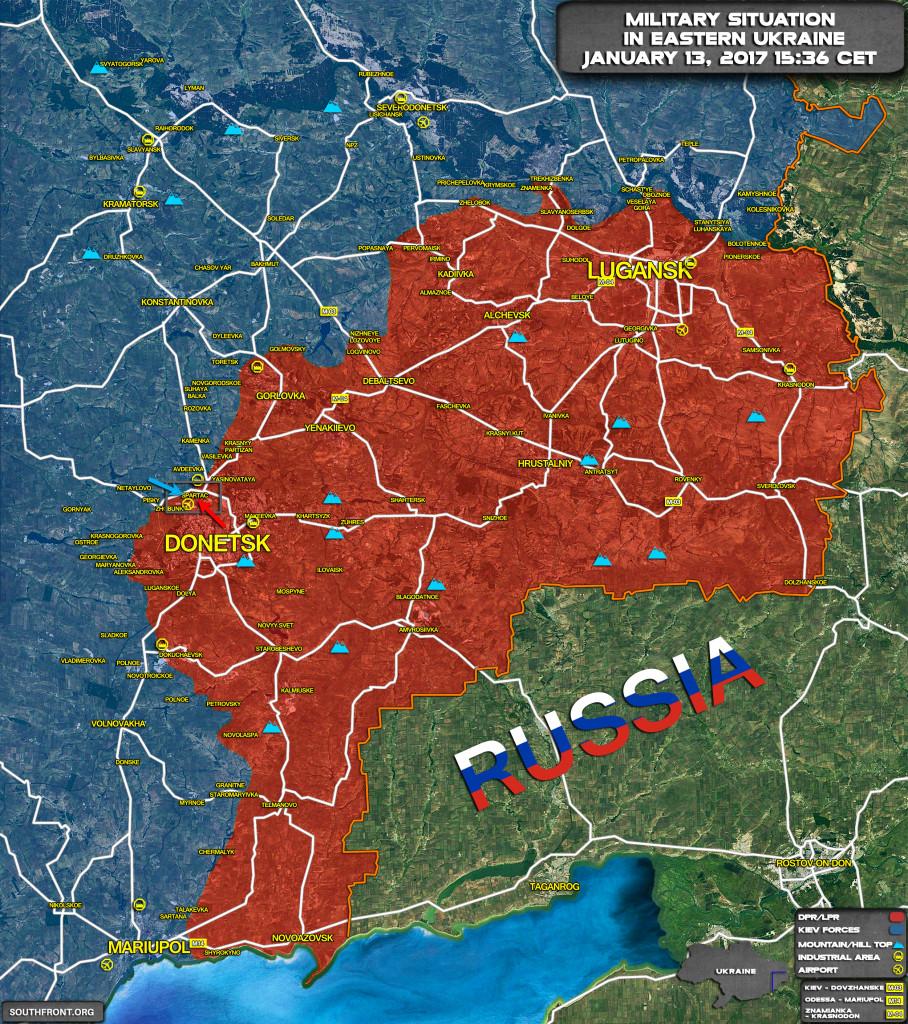2 Killed, 3 Injured In Clashes Northwest Of Dontesk City In Eastern Ukraine