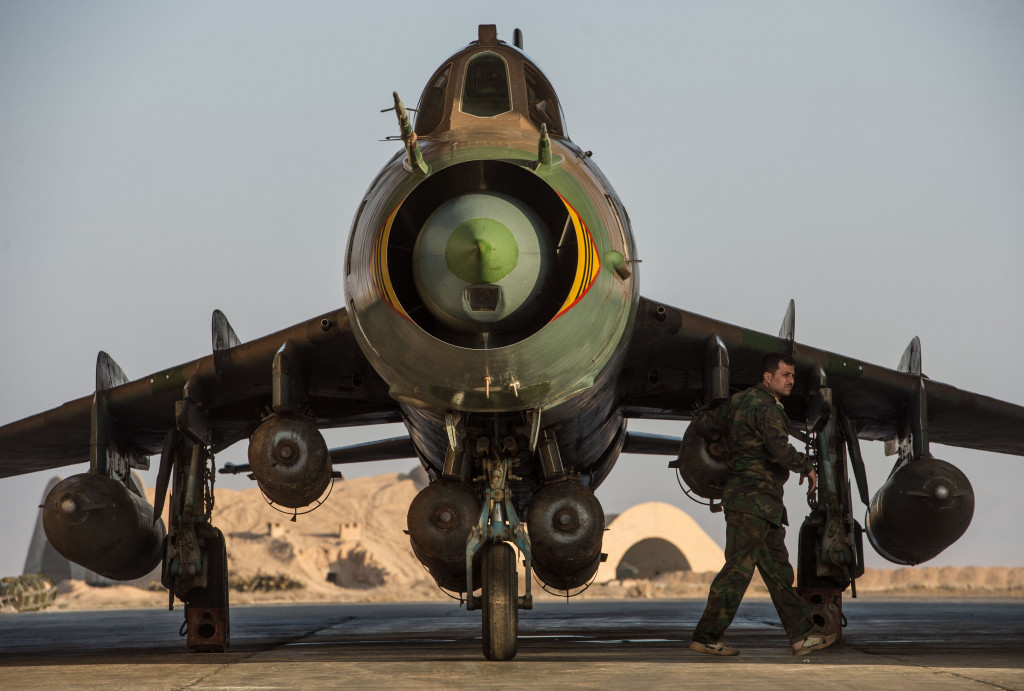 Syrian Air Force Pounds Terrorists In Homs Province