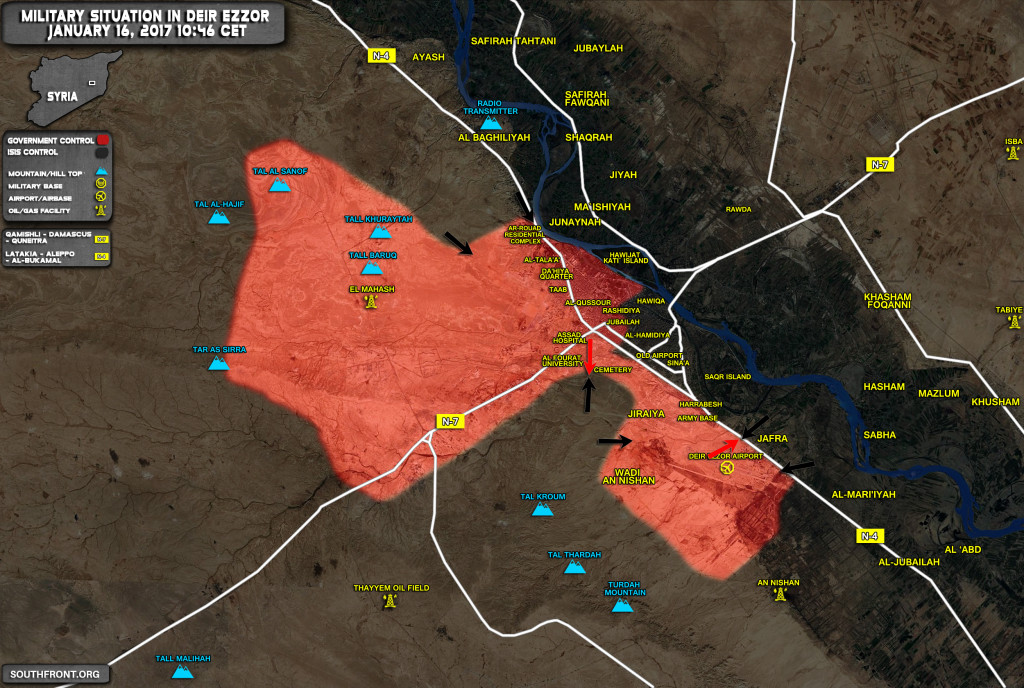Over 110 ISIS Terrorists Killed In Deir Ezzor As Govt Forces Repel Terrorist Advance