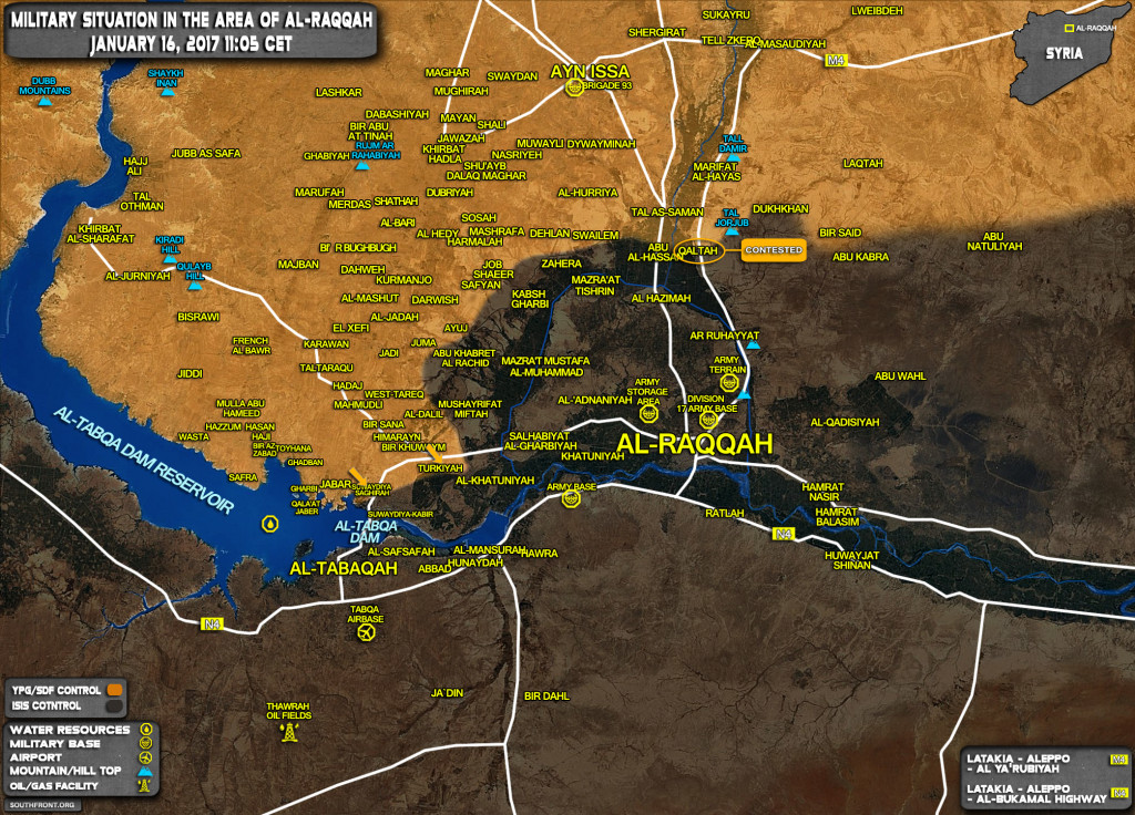 Kurdish YPG Retakes Another Village From ISIS In Al-Raqqah (Map Update)