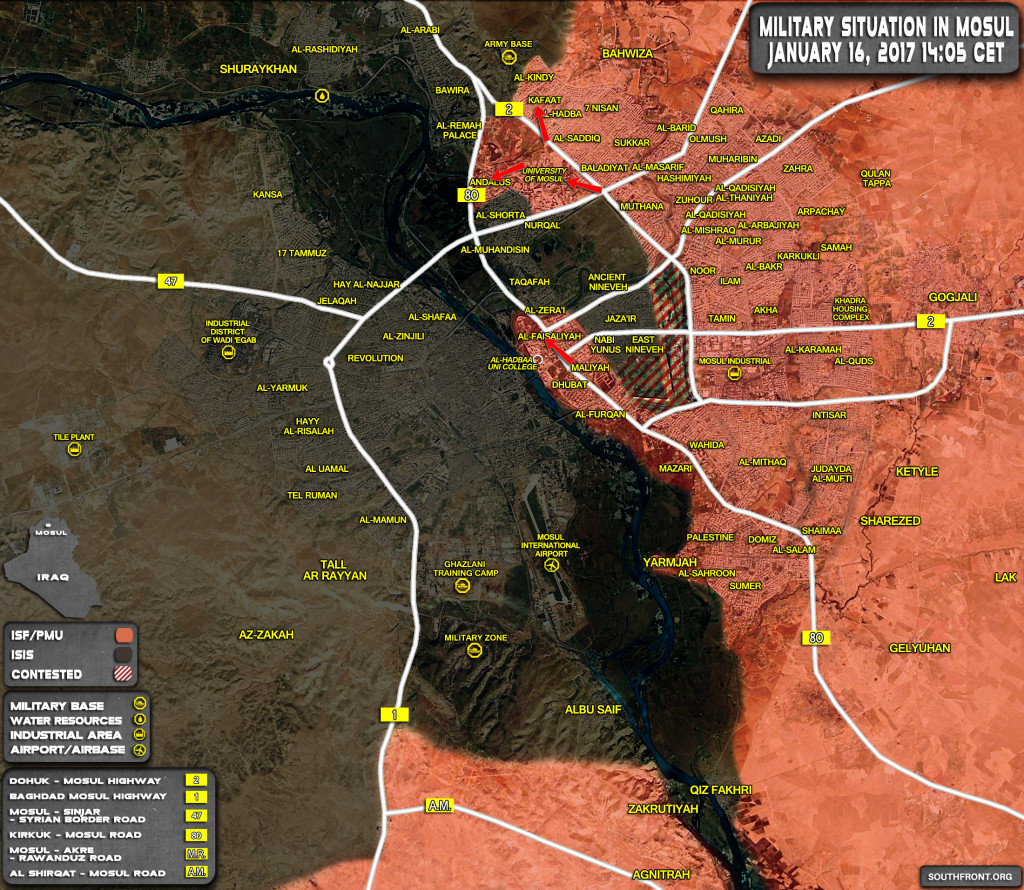 Iraqi Security Forces Recapture More Areas From ISIS In Mosul (Map, Photos)