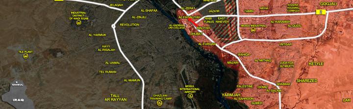 16Jan_Mosul city_Iraq_war_map
