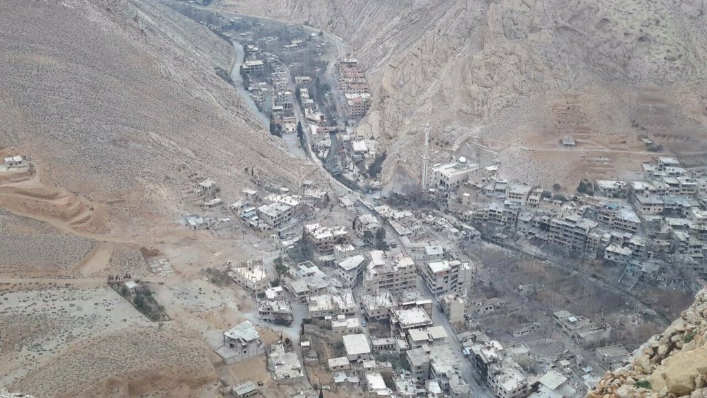 Syrian Army Liberates Ayn Khadra Northwest Of Damascus