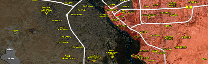 17Jan_Mosul city_Iraq_war_map
