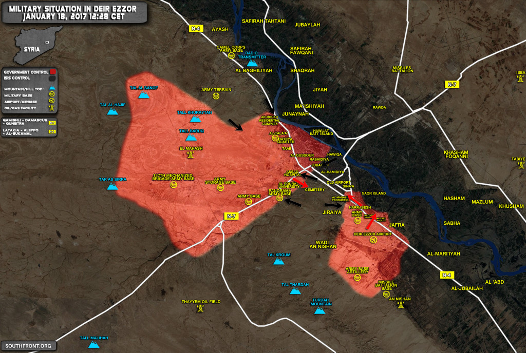 Syrian Army Repels ISIS Offensive On Panorama Army Base In Deir Ezzor. Up To 200 Terrorists Killed Or Wounded In Clashes