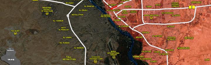 18Jan_Mosul city_Iraq_war_map