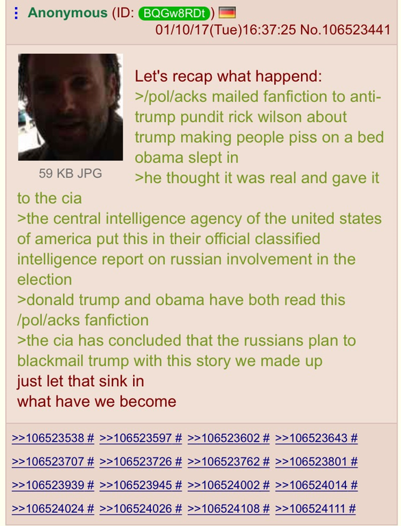 4Chan /POL/ Claims To Have Fabricated Anti-Trump Report As A Hoax