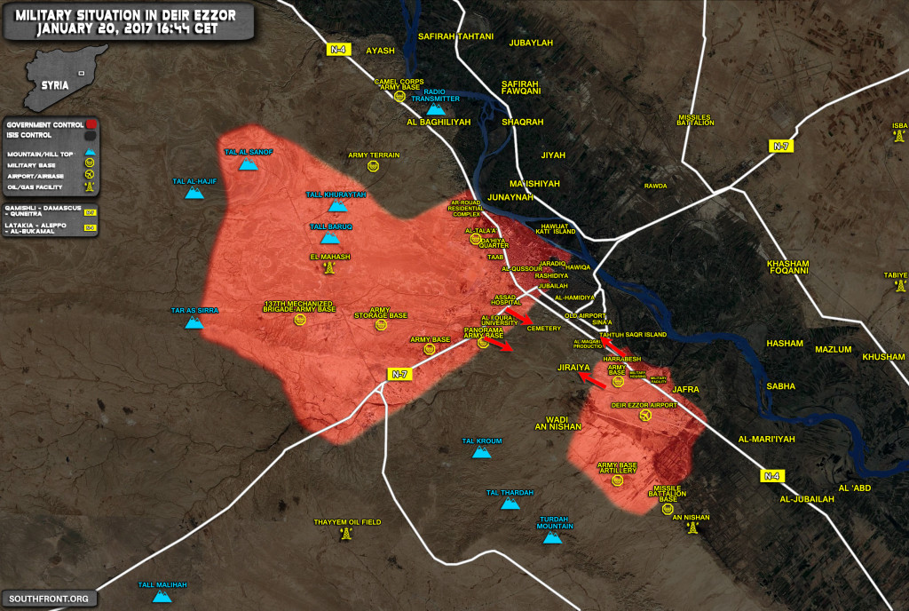 Syrian Army Counter-Attacking Against ISIS In Deir Ezzor (Map Update)