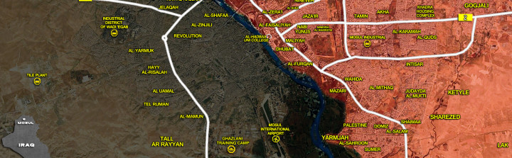 20Jan_Mosul city_Iraq_war_map