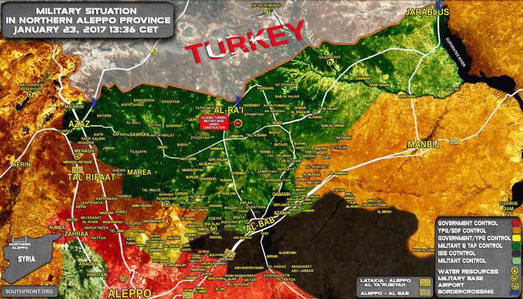 Govt Forces Liberate 3 More Villages In Northern Aleppo (Map Update)
