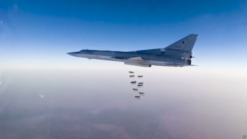 Russian Strategic Bombers Deliver More Strikes Against ISIS Supporting Syrian Army In Battle For Deir Ezzor
