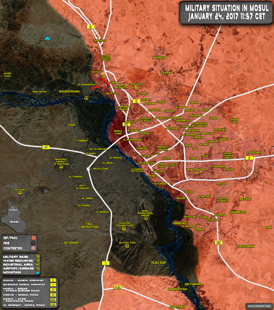 Iraqi Security Forces Prepare Operation In Western Part Of Mosul