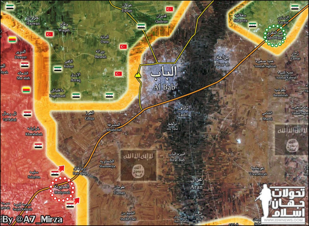 Syrian Army Liberates Another Village Near Al-Bab (Map Update)