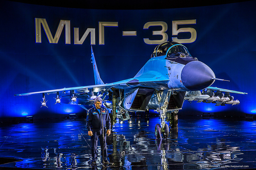 Official Presentation of Russian MiG-35 Fighter Aircraft (Photo Report)