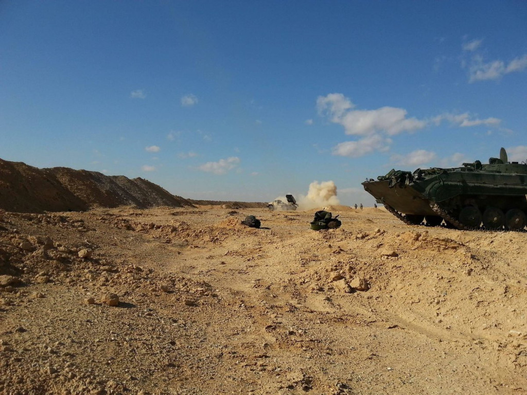 Fifth Attack Troop Corps Trained And Supplied by Russia Deploys In Tyas Airbase (Photos)