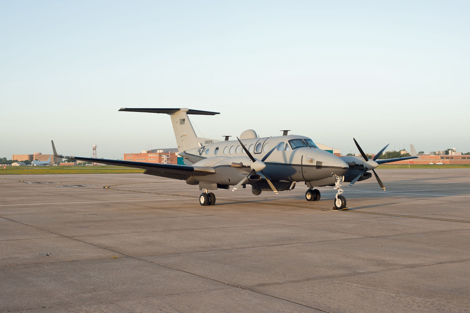 MC-12W Liberty Spy Plane of US Air Force Spotted in Northern Iraq (Photos)