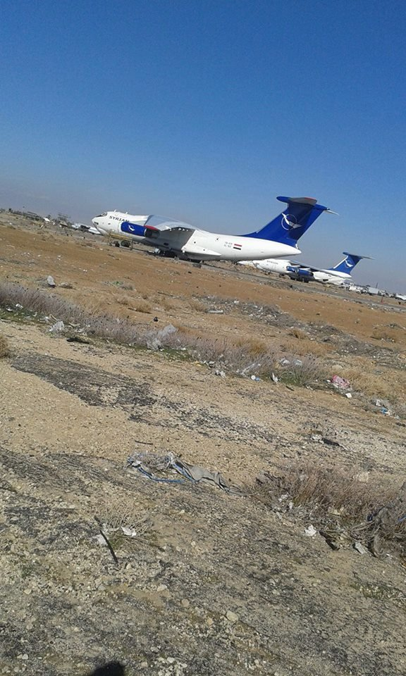 Russian-Made Il-76 Strategic Airlifters of Syrian Air Force Help to Save Deir ez-Zor (Photo)