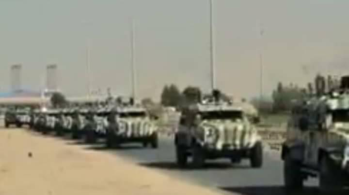 US-Led Coalition Sends New Batch of Military Hardware to Syrian Democratic Forces (Photos)