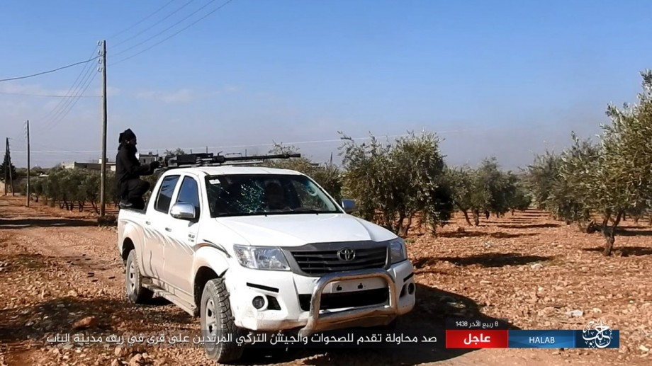 ISIS Photo Confirms That Russia Delivers Airstrikes Near Al-Bab