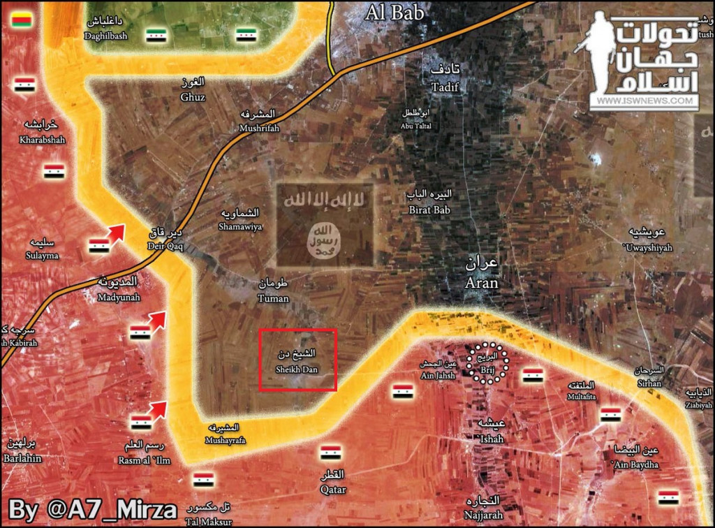 Syrian Government Troops Liberate Another Village In Eastern Countryside Of Aleppo City