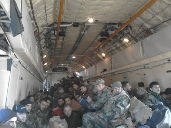 More Details On The Effort To Insert Syrian Airborne Troops Into Deir ez-Zor