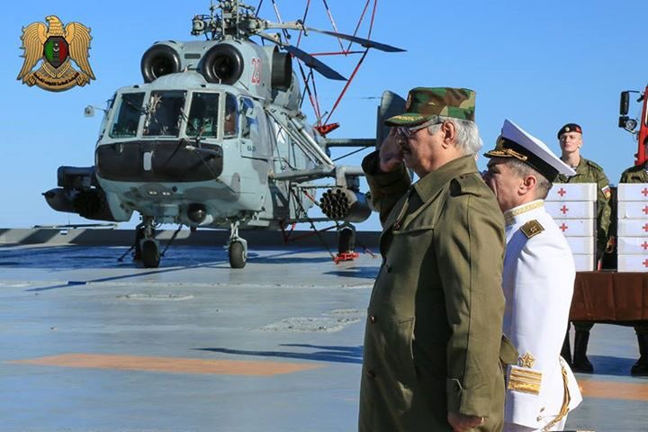 Russia Denies Talks on Creation of Military Bases in Libya