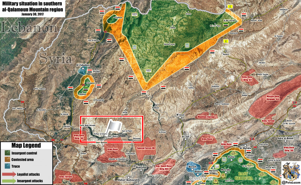 Militant Groups To Surrender More Villages Near Lebanese–Syrian Border