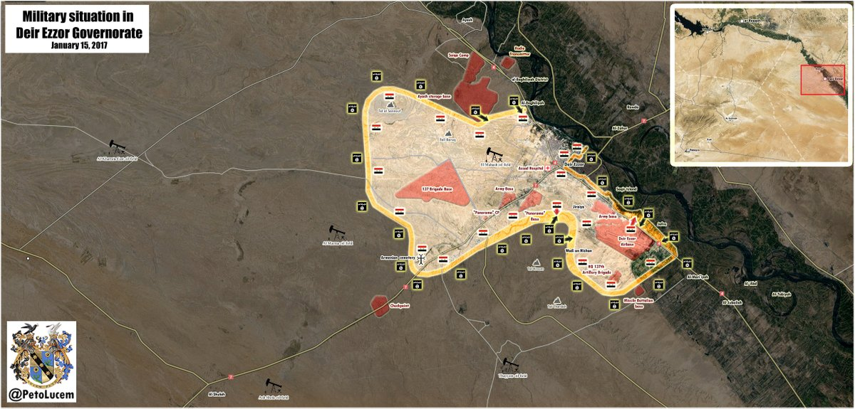 ISIS Launches Large-Scale Attack in Deir ez-Zor