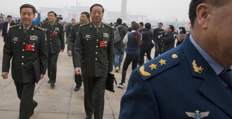 Chinese Army to Take 'New Look' by End of 2017