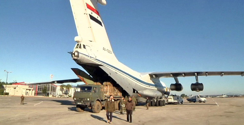 Syrian Air Force Delivers Strategically Important Cargo to Deir ez-Zor