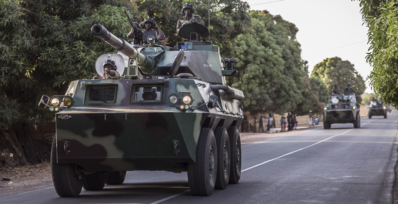 Armies of Senegal & Nigeria Launched Military Operation on Gambia's Territory