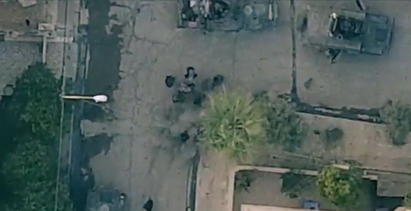 ISIS Publishes Footage of Aerial Attack on Iraqi Servicemen in Mosul (Video)