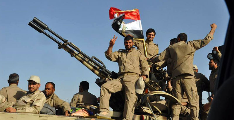 Iraqi Forces Shoot down 3 ISIS Drones & Kill 35 Terrorists