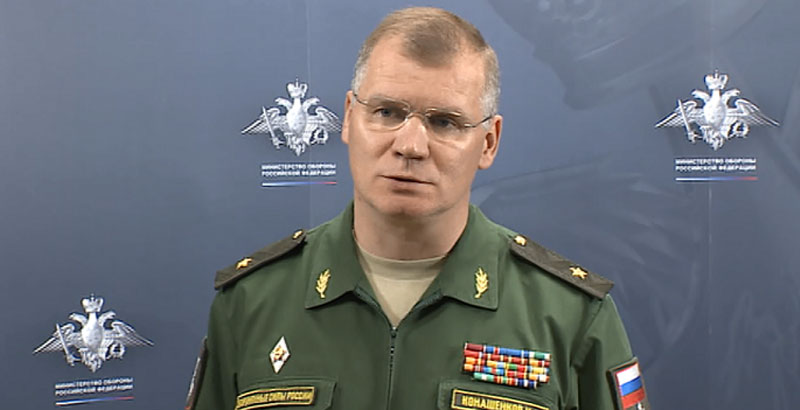Russian MoD: ISIS Strongholds In Syria Are Located In Areas Controlled By US-led Coalition