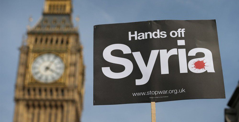 UK Changes Direction of Its Policy towards Syria?