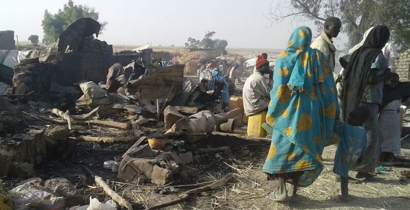 Nigerian Air Force Mistakenly Bombs Refugee Camp: At Least 100 Civilians Killed