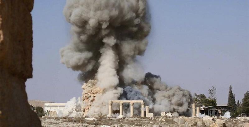 ISIS Destroys Part of Roman Amphitheater in Palmyra (Photos)