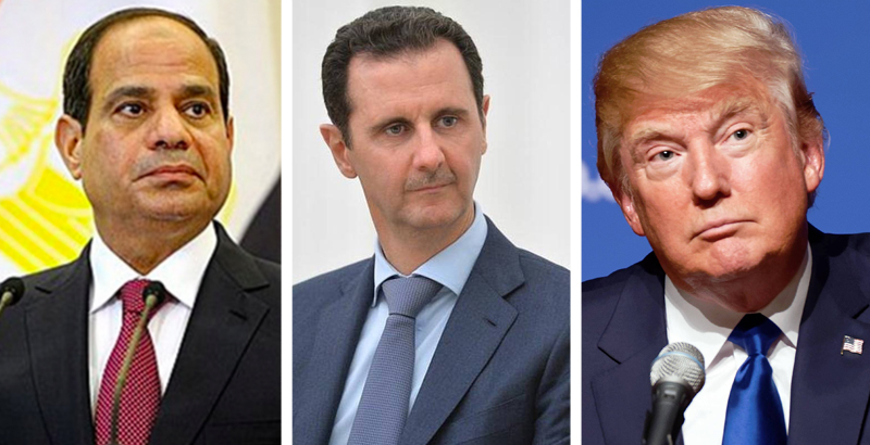 Trump Says Bashar al-Assad Is 'Brave Man' Fighting against Terrorism in Phone Conversation with Egyptian President – Media Report