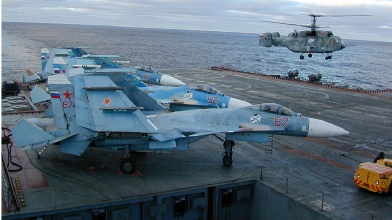 Russian Naval Aviation Destroyed 1,252 Terrorist Targets in Syria Over 2 Months