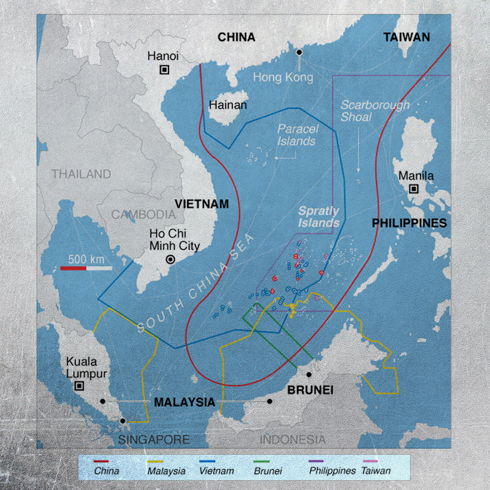 Beijing Is Finishing The Creation Of Control Infrastructures In The South China Sea