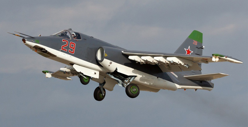 Russia's Su-25SM3 Fighter Jets to Be Dispatched to Syrian Hmeymim Airbase