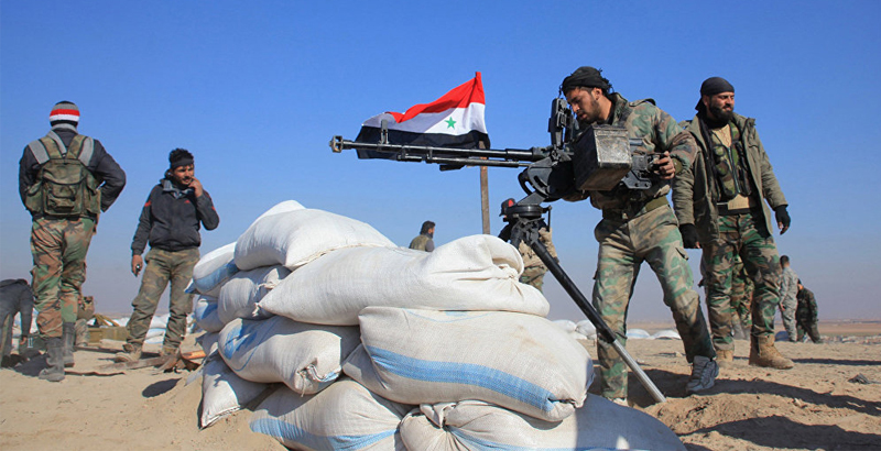 Syrian Army Reflects ISIS Offensive on T4 Airbase in Homs