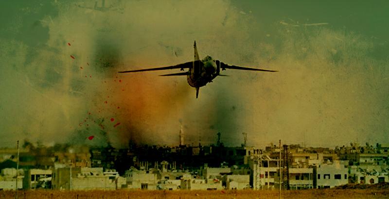 Syrian Air Force Destroys Al-Nusra's Base in Daraa