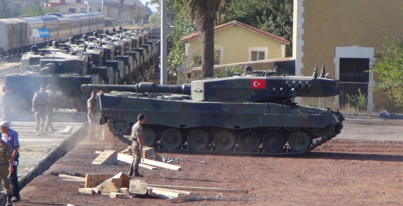 Reasons of Losses of Turkish Leopard 2A4 Tanks in Syria – Report