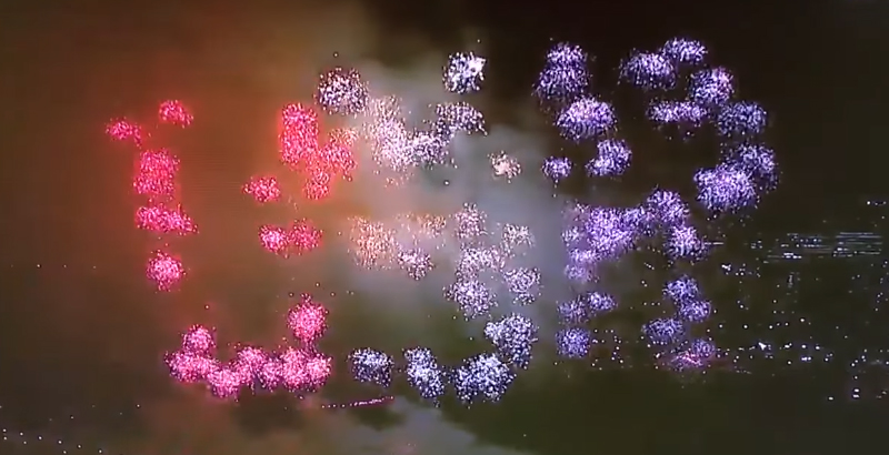 United States of Russia – Trump's Inauguration Fireworks Show 'USR' Letters (Video)