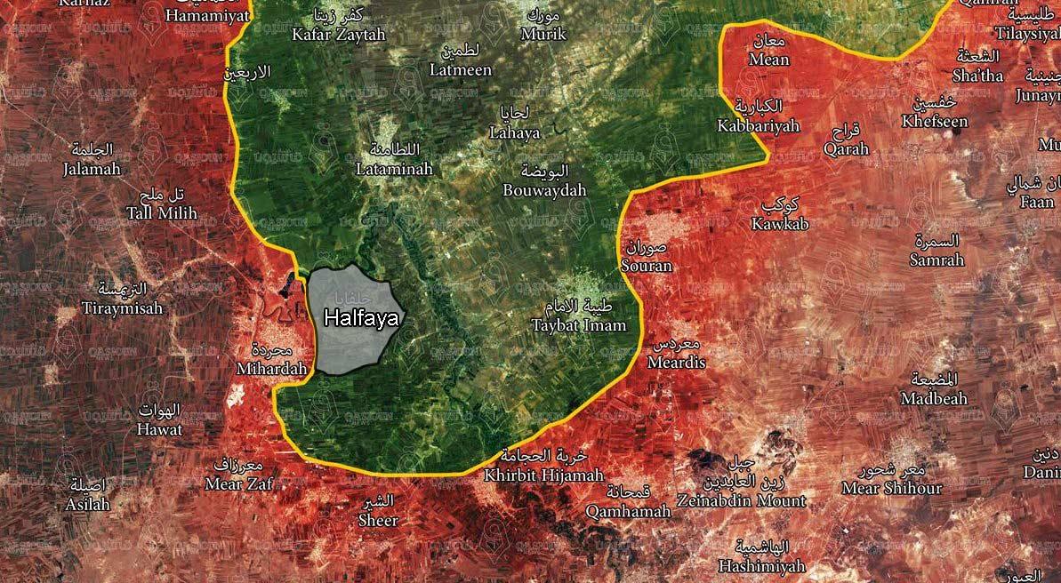 Al-Nusra Front Recaptures Halfays Town in Northern Hama