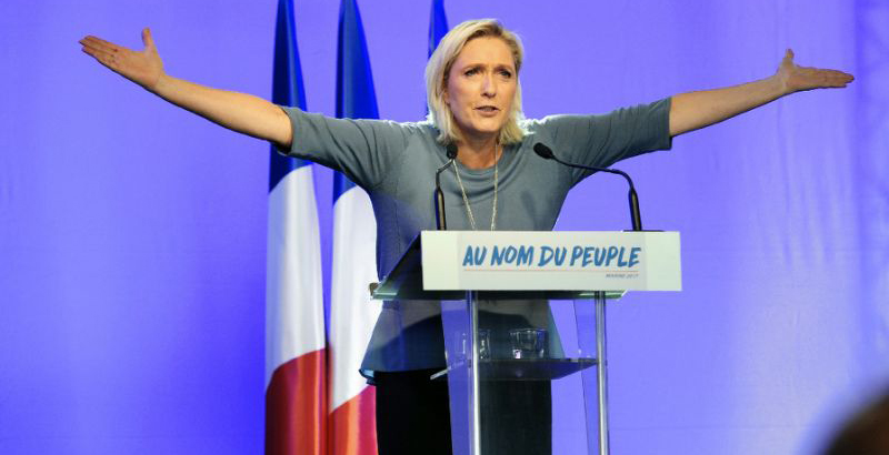 Le Pen: 'We Are Experiencing the End of One World & the Birth of Another'