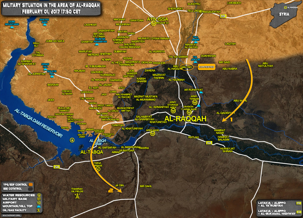 US-Backed YPG Forces Announce 3rd Stage Of Operation To Isolate ISIS Stronghold Of Al-Raqqah